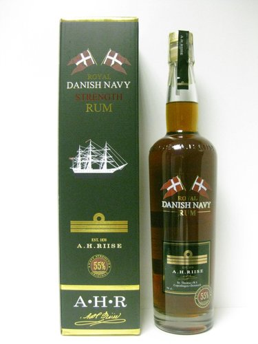 A. H. Riise Danish Navy Strength 55% 0,7 l